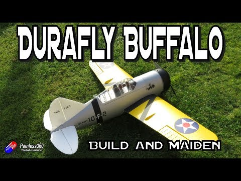 Durafly Buffalo 920mm - Build and Maiden - UCp1vASX-fg959vRc1xowqpw