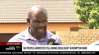 Kempton Park drug bust sees 6 nabbed