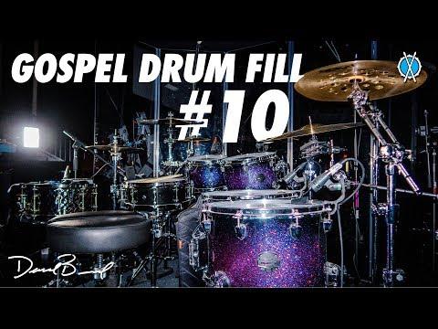 Gospel Drum Fill #10 // Daniel Bernard
