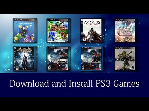 How to download and install PS3 games With USB for free - VidVui