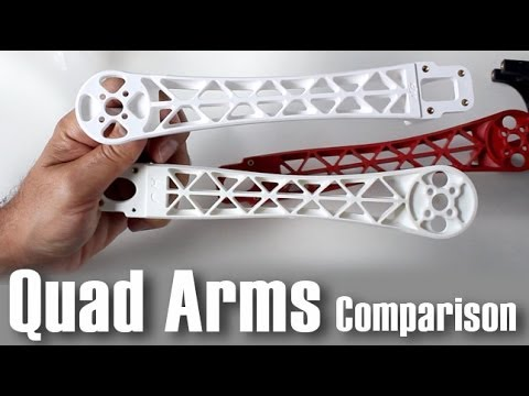 QuadCopter DJI Style Arm Comparison - UCOT48Yf56XBpT5WitpnFVrQ