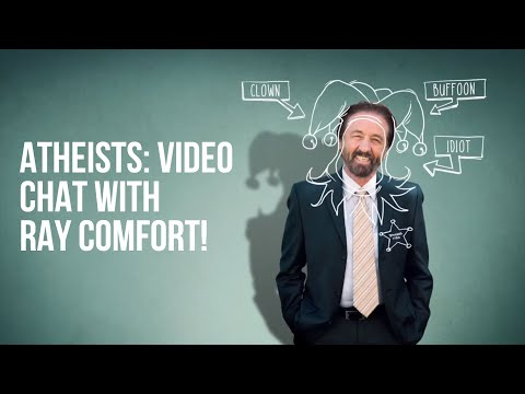 Atheists, Want to Talk to Ray Comfort? New Atheist Hotline!