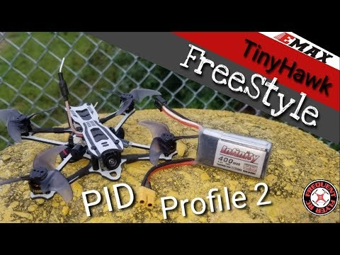 TinyHawk Freestyle Profile 2 Is Better Tuned For 2S! (XT30 and Buzzer mods Done) - UCNUx9bQyEI0k6CQpo4TaNAw