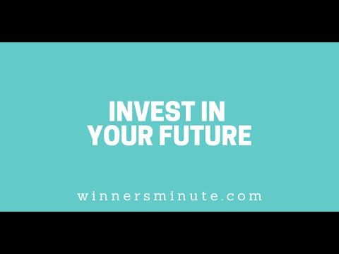 Invest in Your Future // The Winner's Minute With Mac Hammond