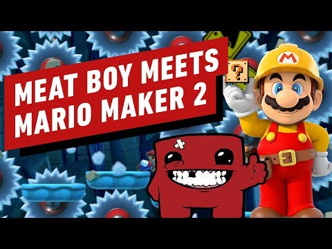 Super Mario Maker 2 Meets Super Meat Boy Forever in This Tough as Nails Level - UCKy1dAqELo0zrOtPkf0eTMw