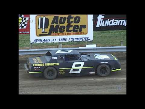 Full race from the Factory Stock division at Hartford Speedway Park in MI July 3, 2001. - dirt track racing video image