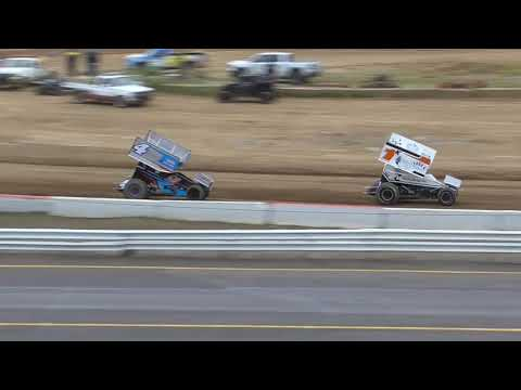 Coos Bay Speedway Night #1 of Western Sprint Tour Speedweek July 12th, 2021 - dirt track racing video image