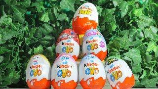 Abrindo ovos surpresa Kinder Ovo Páscoa 2019