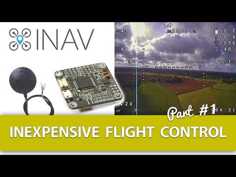"""Part #1 - Inexpensive Flight Control Using iNav - """"An Introduction"""" for Fixed Wing Models - UCWP6vjgBw1y15xHAyTDyUTw"""