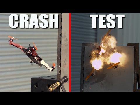 ON EXPLOSE UN DRONE RACER EN SLOW MOTION  (crash test) - UCukLvmEiidTNhA3O45nN3Cg
