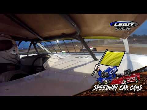 #18 Billy Romans - Sportsman Late Model - 6.26.21 Legit Speedway Park - In Car Camera - dirt track racing video image
