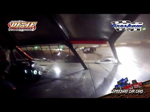 #18 Brock Love - Dixie Speedway 5-1-21 - Steel Head 525 - In-Car Camera - dirt track racing video image