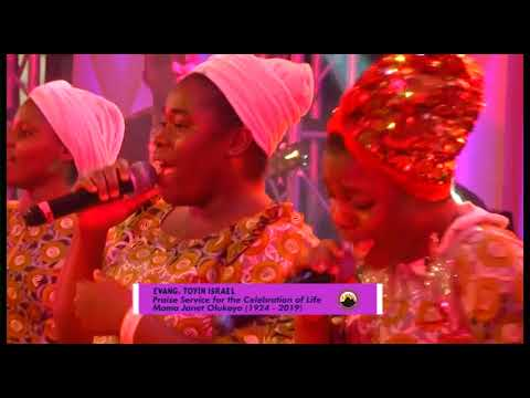 Late Ma Janet Olukoya Special Praise Service Evang  Toyin Isreal