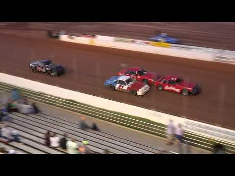 05/14/21 Mini Stock Heat and Feature Races - Oglethorpe Speedway Park - dirt track racing video image