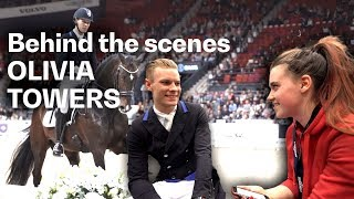 Olivia Towers meets Daniel Bachmann Andersen at the #FEIWorldCupFinals in Gothenburg