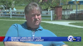 Oswego landlord settles sexual harassment lawsuit