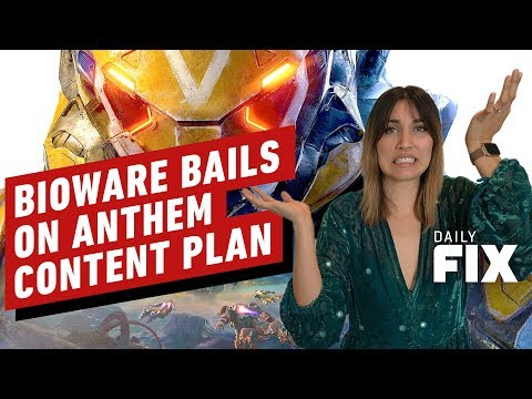 Bioware Bails on Anthem's Post Launch Plans - IGN Daily Fix - UCKy1dAqELo0zrOtPkf0eTMw