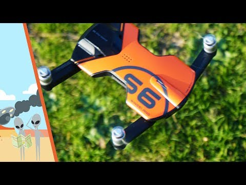 Wingsland S6 Drone Unboxing, Setup and Flight Testing - UC7he88s5y9vM3VlRriggs7A