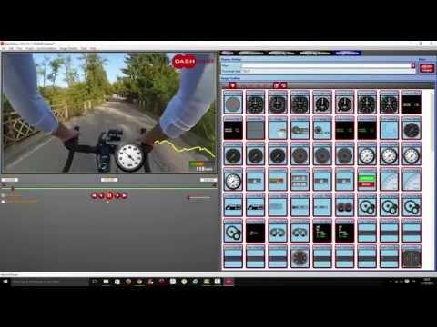 Telemetria Ciclismo  Dashware Tutorial GoPro