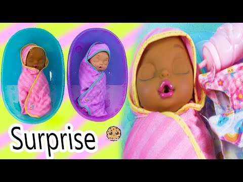 Eyes + Hair Change Big Newborn Twin Sisters Color Changing Surprise - Video - UCelMeixAOTs2OQAAi9wU8-g
