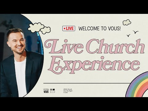 Join us LIVE at VOUS Church  Sunday Service - September 5th, 2021 at 12PM