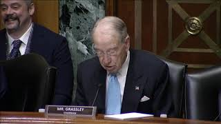 🔴 Grassley Statement on Challenges in the Retirement System