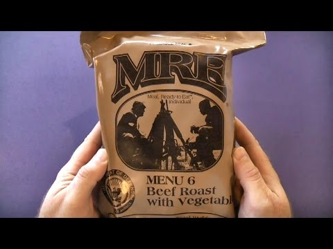 MRE Review - Menu 6 - Beef Roast with Vegetables (2012) - UCIUTBxBxmMMY2bUJqYITJxw