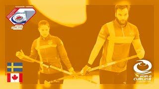 Gold medal - World Mixed Doubles Curling Championship 2019