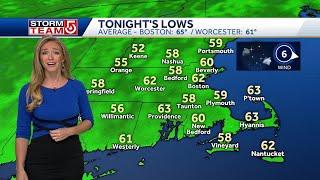 Video: Cool, comfortable night ahead