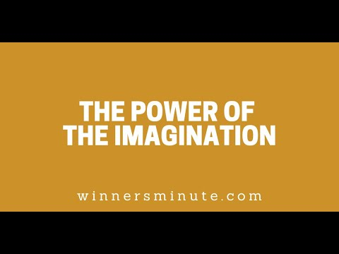 The Power of the Imagination // The Winner's Minute With Mac Hammond