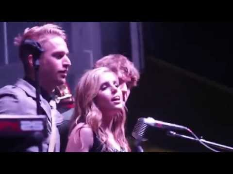 Echosmith performed in downtown Auburn following the Homecoming parade.