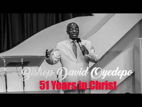 Bishop yedepo  51 Years In Christ