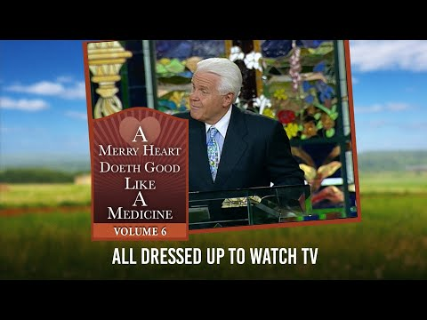 Merry Heart:  All Dressed Up To Watch TV  Jesse Duplantis