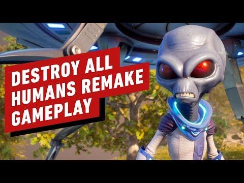 13 Minutes of Destroy All Humans! Remake Gameplay - UCKy1dAqELo0zrOtPkf0eTMw