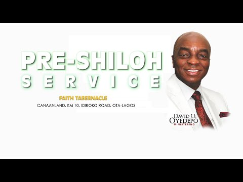 PRE-SHILOH ENCOUNTERS SERVICES 6, DEC. 2020  FAITH TABERNACLE OTA