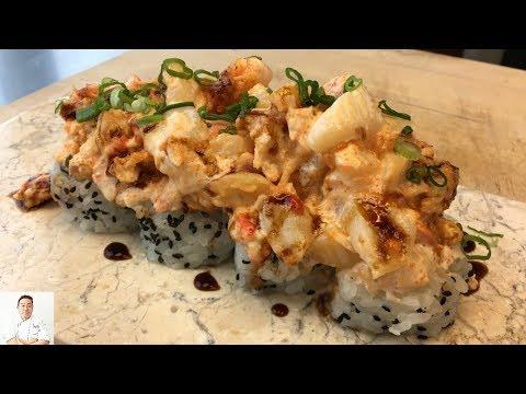 Super Volcano Sushi Roll (Dynamite, TNT)   Most Delicious Recipe - UCbULqc7U1mCHiVSCIkwEpxw