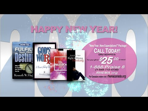 New Year, New Expectations Package (As seen on RHEMA Praise)