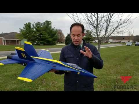The Force F-18 Blue Angel is Back In Stock! - UCaZfBdoIjVScInRSvRdvWxA