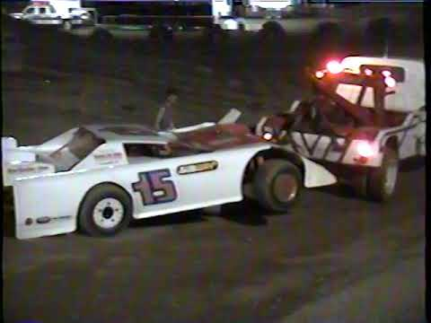Hidden Valley Speedway July 31, 1993 Late Model Feature - dirt track racing video image