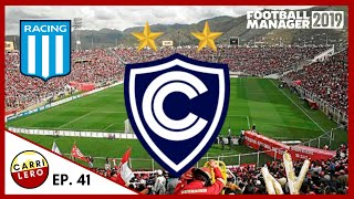 FM19 Club Cienciano | Racing Club en Semis | S4E41 | Football Manager 2019 Español - Perú