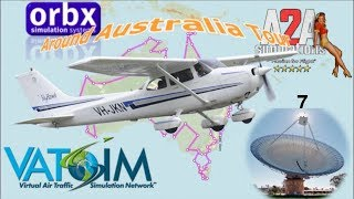 GA around Australia tour -  A2A C172 OZx Tumut to Parkes via Young