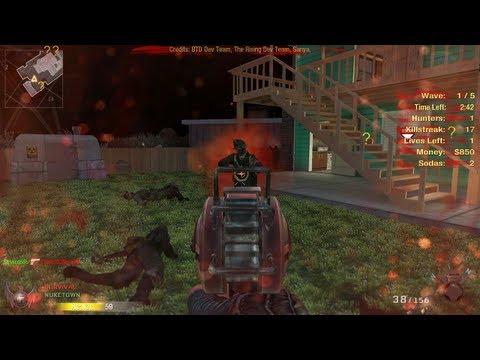Nuketown Zombies Gameplay! - Black Ops Mod, Black Ops 2 Zombies Preview - default