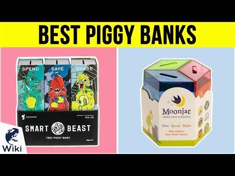 10 Best Piggy Banks 2019 - UCXAHpX2xDhmjqtA-ANgsGmw