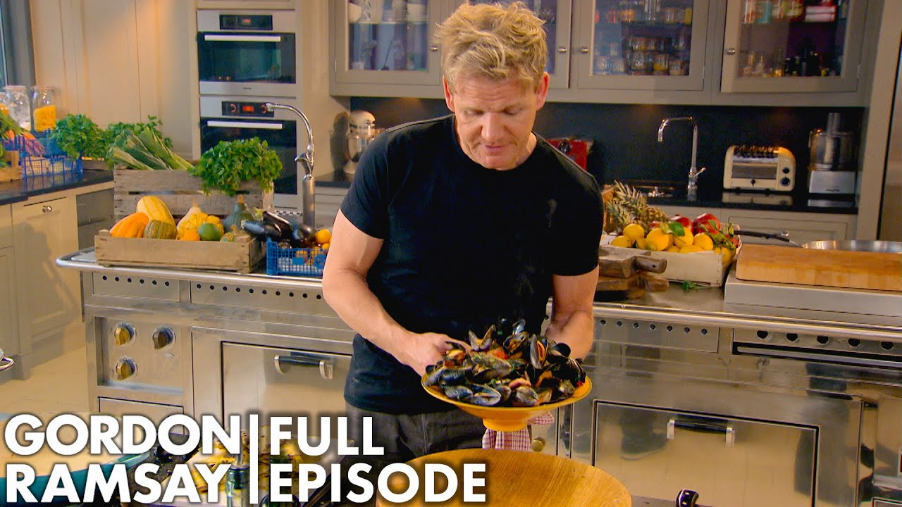 Healthy Recipes With Gordon Ramsay   Home Cooking FULL EPISODE