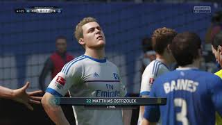 FIFA 16 | Hamburger SV - Everton FC (2 players) (NL commentaar)