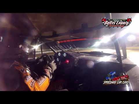 #54 David Hendrix - USRA Stock Car - 7-2-2021 Dallas County Speedway - In Car Camera - dirt track racing video image