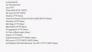 11 enemies added to the enemies list (the return of the enemies list)
