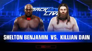 WWE 2K19 UNIVERSE MODE #61 SMACKDOWN LIVE INSTANT CLASSIC MATCH BETWEEN MAHAL AND CREWS !!!