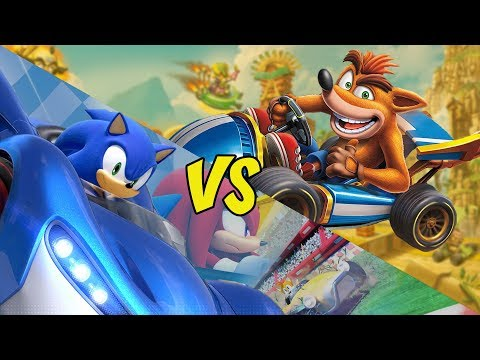 Crash Team Racing Nitro Fueled Vs. Team Sonic Racing - In Depth Comparison - UCy8fynO_7xtpU2powS9cYwg