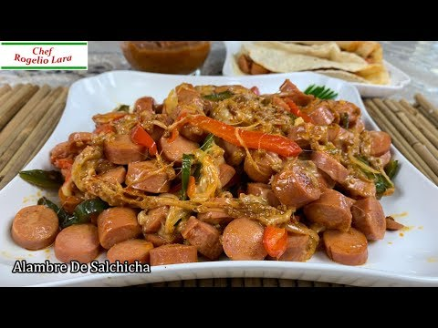 Alambre De Salchicha , Deliciosa Receta - UCKkinZz8CfbX-Hr6zcXOO7Q